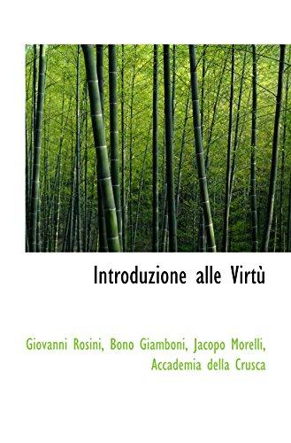 Introduzione alle Virtù PDF Books