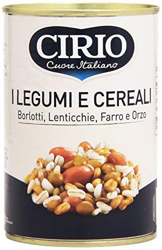 Cirio Borlotti, Lenticchie, Farro e Orzo - 410 gr