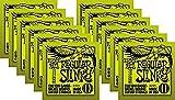 Ernie Ball 2221 Regular Slinky 6-String Electric Guitar Strings 12-Pack