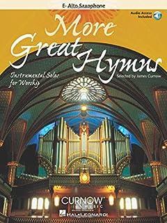 More Great Hymns: Alto Sax