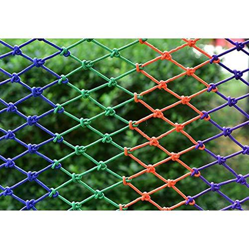 AQWPP Kind Beschermend Netto Trap, Balkon Veiligheid Netto Kleuterschool Kleur Decoratieve Netto Huisdier Anti-vallende Netto Plafond Netto Planten Klimnet, 1 * 3m/3.3 * 9.8ft