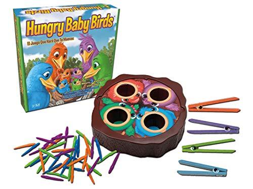 Cayro - Hungry Baby Birds - Juego de Mesa Infantil- Juego