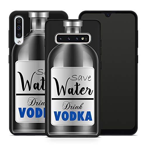 Handyhülle Bier für Samsung Silikon MMM Belrin Hülle Saufen Vodka Party Trinken Spruch Sprüche, Hüllendesign:Design 6   Silikon Schwarz, Kompatibel mit Handy:Samsung Galaxy A71