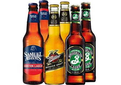American Ale Bier Paket USA mit 6 Bierflaschen