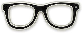 Black Glasses Frames Enamel Lapel Pin Optometry Eye Doctor Gift