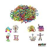 Gooyo Educational Construction Sticks Block Games for Kids Smart Colorful Sticks Building Blocks