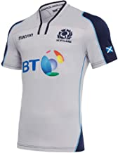 Macron 2018-2019 Scotland Alternate Authentic Replica Rugby Football Soccer T-Shirt Jersey