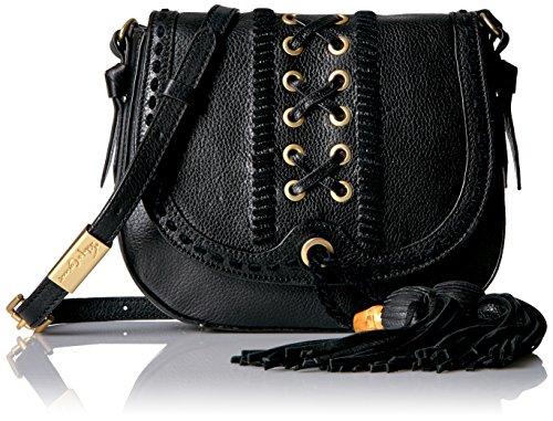 Foley + Corinna Sarabi Saddle Bag, Black