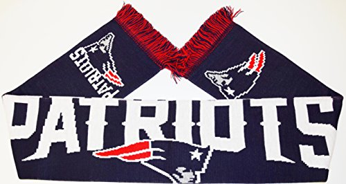 NEW ENGLAND PATRIOTS 2016 WORDMARK SCARF