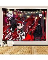 アニメ東京グールタペストリーの壁掛けの装飾のためのアパートホームアートウォールタペストリー寝室のリビングルームの毛布 (Color : D, Size : 264*224)