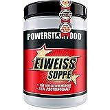 EIWEISS GEMÜSE-SUPPE - ideale Zwischenmahlzeit mit 56% Proteingehalt während einer Diät - zum Aufbau und Erhalt von Muskelmasse - 400g - MADE IN GERMANY