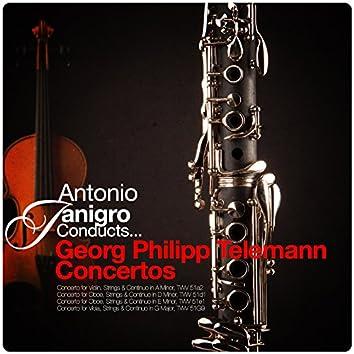 Antonio Janigro Conducts... Georg Philipp Telemann Concertos