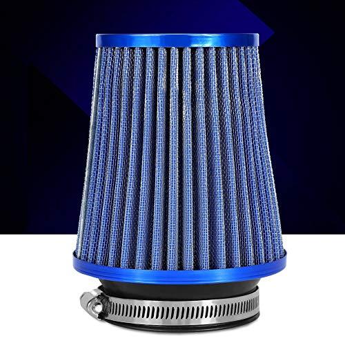 Filtro de aire de admisión, azul del filtro de aire del alto flujo para el coche para el automóvil