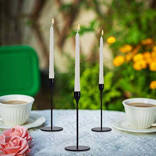 portacandele,portacandele da tavolo,decorazione nataledecorazione festa di compleanno,decorazione di festa,candelabro,candelabro natale,candelabro 3 braccia,porta candele,soprammobili(nero)