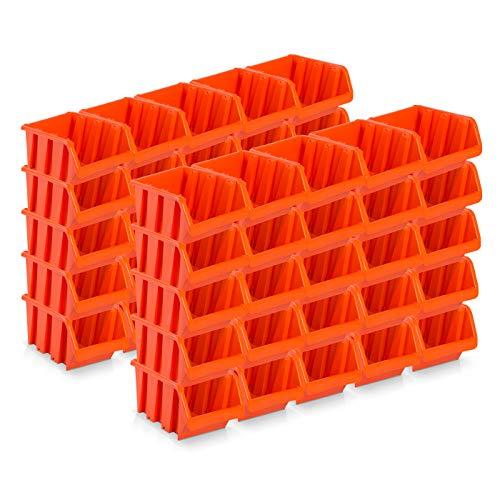 50 Stück Sichtlagerboxen Größe 3 -...
