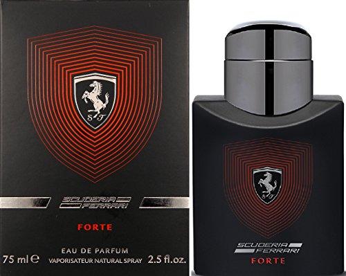 Ferrari Scuderia Forte Eau de Parfum Spray for Men, 2.5 Ounce