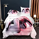 3 Pcs PS 5 Comforter Set for Boys Girls Playstation...
