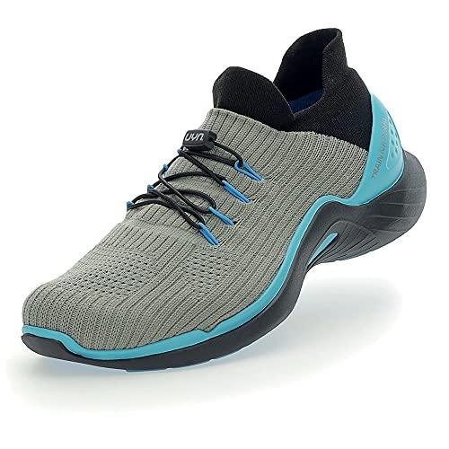 UYN Urban Outdoor Shoes, Zapatillas de Deporte Hombre, Grey Melange, 42 EU