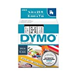 DYMO Standard D1 Labeling Tape for LabelManager Label Makers, Black print on White tape, 1...