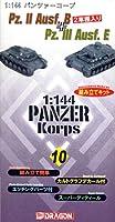 1/144 パンツァーコープ 10 Pz.II Ausf.B & Pz. III Ausf.E