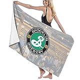 65469longshuo Brooklyn-Brewery Logo Bath Towels Luxury Microfiber Beach Towel Quick-Drying Pool Towel Blanket Toalla
