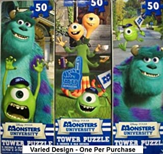 Monster University Tower Puzzles - One Varied Design - 50 Pieces