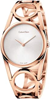 Calvin Klein Femme Analogique Quartz Montre avec Bracelet en Acier Inoxydable K5U2S646