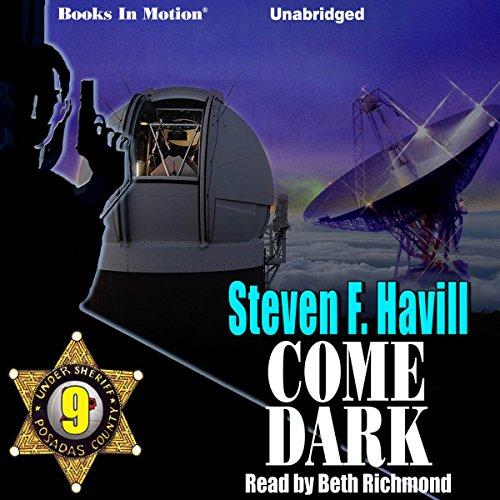 Come Dark audiobook cover art