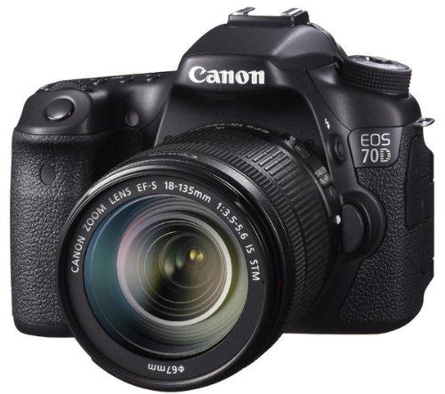 Canon 70D - Cámara digital y objetivo 18-135 IS STM