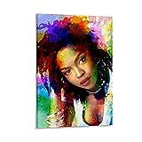 liutao Lauryn Hill Poster, dekoratives Gemälde, Leinwand,