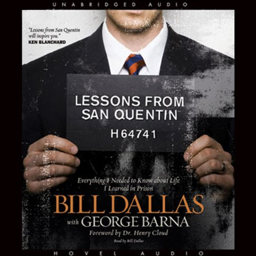 Lessons from San Quentin audiobook cover art