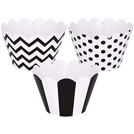 Wrappers Case Party Decoration 5 Packs of 12 Duck Paper Cup Cake Muffin Collar