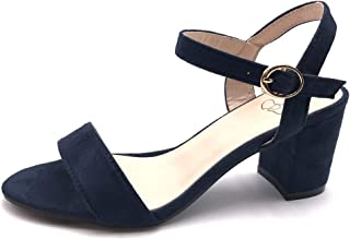 0567146bf003d5 Angkorly - Chaussure Mode Sandale Escarpin Petits Talons Plateforme Ouvert  Femme Simple Basique Classique lanière Talon
