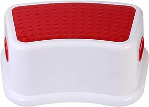 CLISPEED Toilet Stool Kids Step Stool Bathroom Step Stool Anti Slip Stool for Bedroom Kitchen Bathroom Potty Training