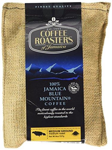 Blue Mountain Coffee 100% Jamaica Roasted and Ground (227g bag)