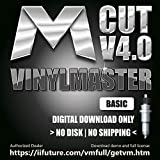 Software for Vinyl Cutting Plotter Sticker and Decal Machines VinylMaster Cut (No Disk)
