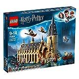75954 LEGO Harry Potter Hogwarts Gran Salón 878 Piezas Edad 9+ y una Minifigura de la serie Harry Potter (figura aleatoria)