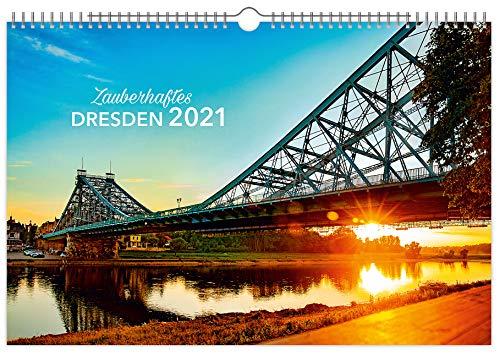 Kalender Zauberhaftes Dresden 2021   60 x 40 cm
