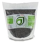 Semillas de Chía ECO Naturales - 1 kg - Certificado Ecológico - Alta Calidad - Fuente Rica de Omega-3, Fibra y Proteínas - Completamente Natural, Sin Toxinas - Adecuado para Veganos.
