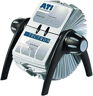 Durable VISIFIX Flip Business Card File, Black (241701)