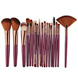 6/15/18Pcs Makeup Brush Tool Set Makeup Powder Eye Shadow Liquid Foundation Blush Mixed Beauty Makeup Brush