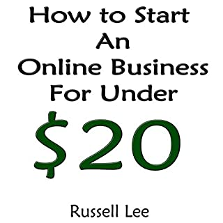 How to Start an Online Business for Under $20 audiobook cover art