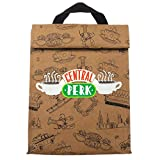 Friends TV Sitcom Central Perk Brown Bag Lunchbox