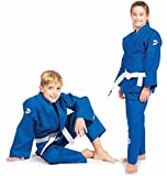 GreenHill Judo Suit Junior (Blue, 140)