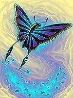 クロスステッチキット刻印刺繡-夢-大人の初心者スターターキット-DIYクロスステッチ針仕事フルレンジのプリントパターンクラフト家の装飾ギフト11CT(16x20インチ)