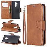 Sac de téléphone portable Cas pour Portefeuille multifonctionnel LG G7 Coque en cuir de...