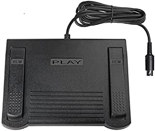 Sony FS-80 Replacement Foot Pedal for Sony M2000 and Sony M2020.