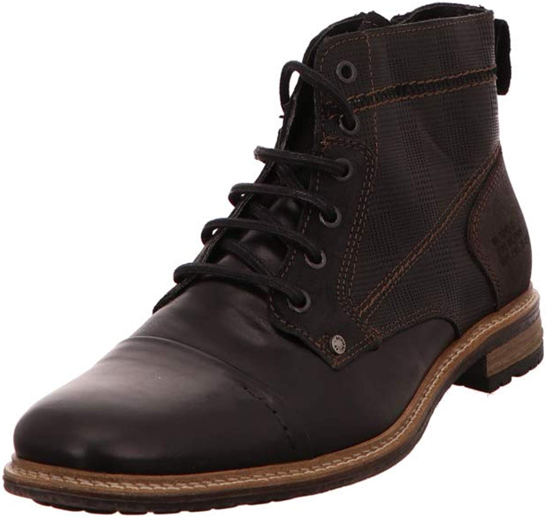 BULLBOXER Herren Herren Stiefel 870-K5-5872A-MCKB schwarz 332999  100% nagelneu mit ursprünglicher Qualität
