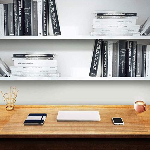 Alfombrilla de escritorio transparente para escritura, transparente, resistente al agua, mantel de poliuretano termoplástico duradero para niños, estudiantes, oficina, hogar
