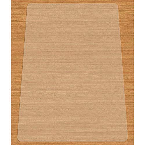 EAYHM チェア マット デスク下マット 椅子 床 マット 透明PVC 床 保護シート 机下/フロア/畳/床暖房/オフィ...
